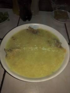Arroz Caldo/ Rice Porridge